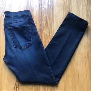 GAP 1969 Slim Straight Jeans, Dark Wash, Size 31r